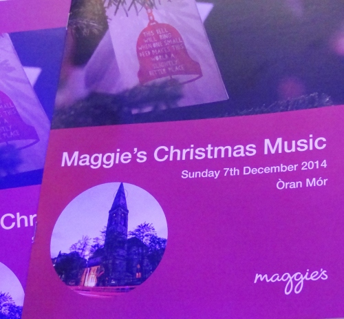 Maggie's Glasgow Christmas Concert, Oran Mor, 7th Dec 2014